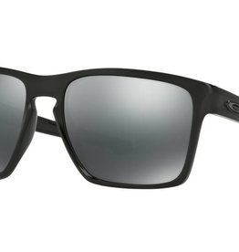 SUNGLASSES OAKLEY SLIVER POLISHED BLACK - BLACK IRIDIUM LENSE