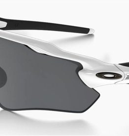 SUNGLASSES OAKLEY RADAR  EV PATH WHITE WITH BLACK LENS (SPECIAL ONE OFF)