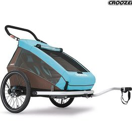 Croozer CROOZER KID TRAILER 2 PLUS BLUE (2 seater, convertible into buggy)