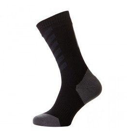 Sealskinz SOCKS SEALSKINZ ROAD THIN MID WITH HYDROSTOP