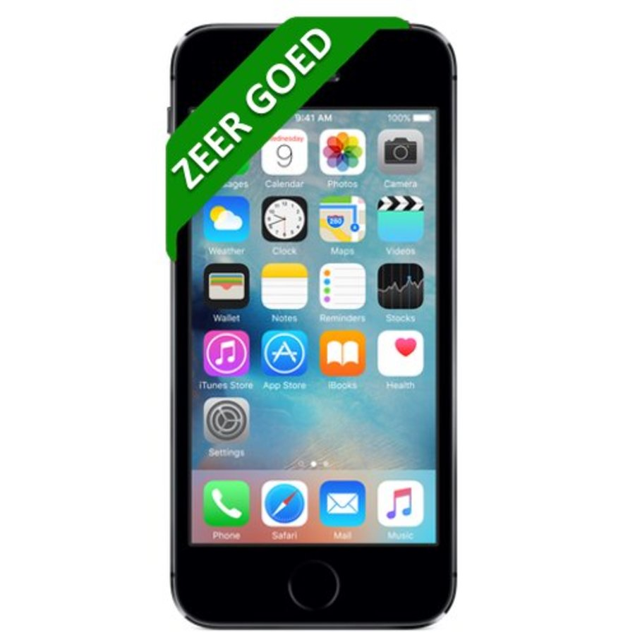 iPhone 5S Refurbished - 32GB - Space Gray - Zeer goed-1