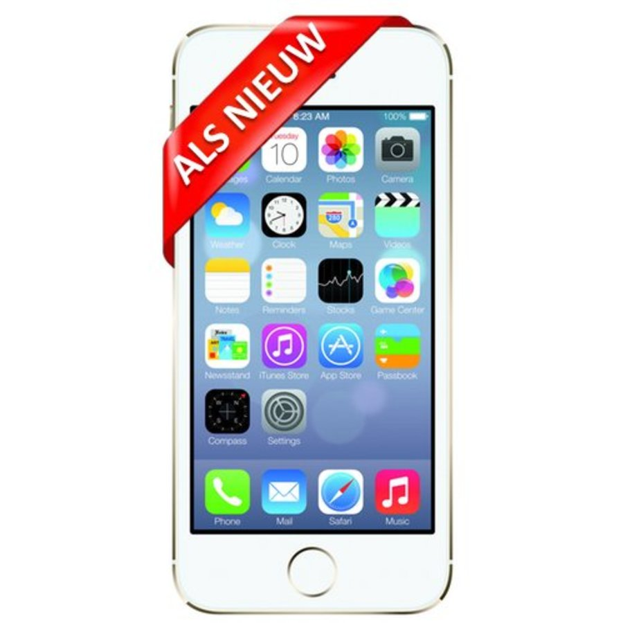iPhone 5S Refurbished - 16GB - Goud - Als Nieuw