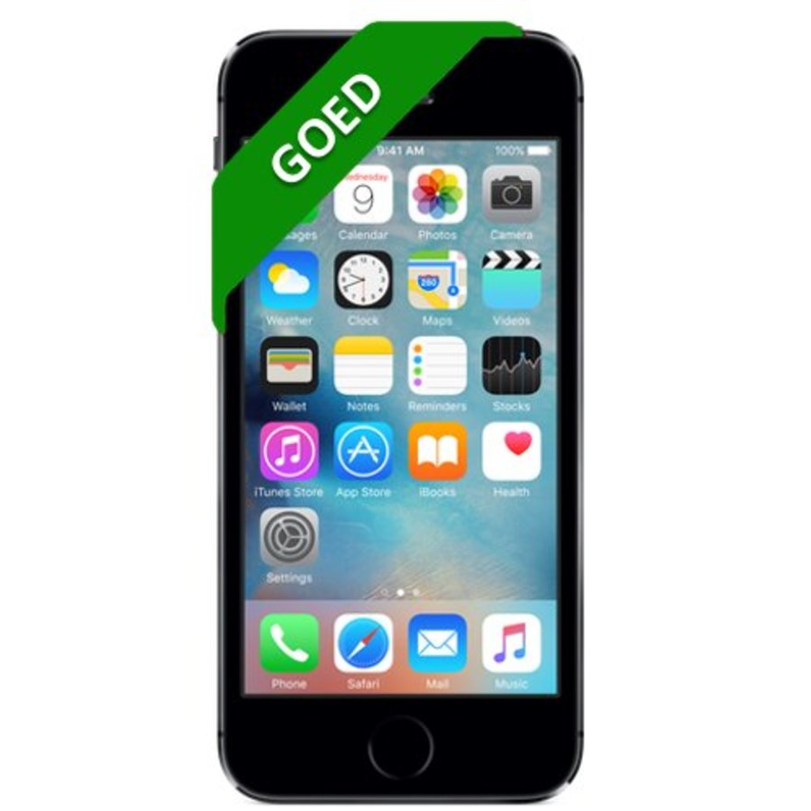 iPhone 5S Refurbished - 32GB - Space Gray - Goed-1