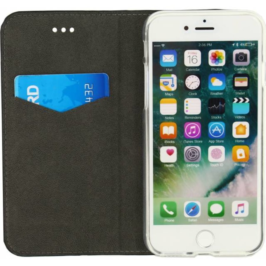 iPhone 7/8 - Gelly Book Case - Black-2