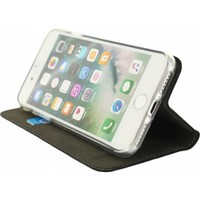thumb-iPhone 7/8 - Gelly Book Case - Black-3
