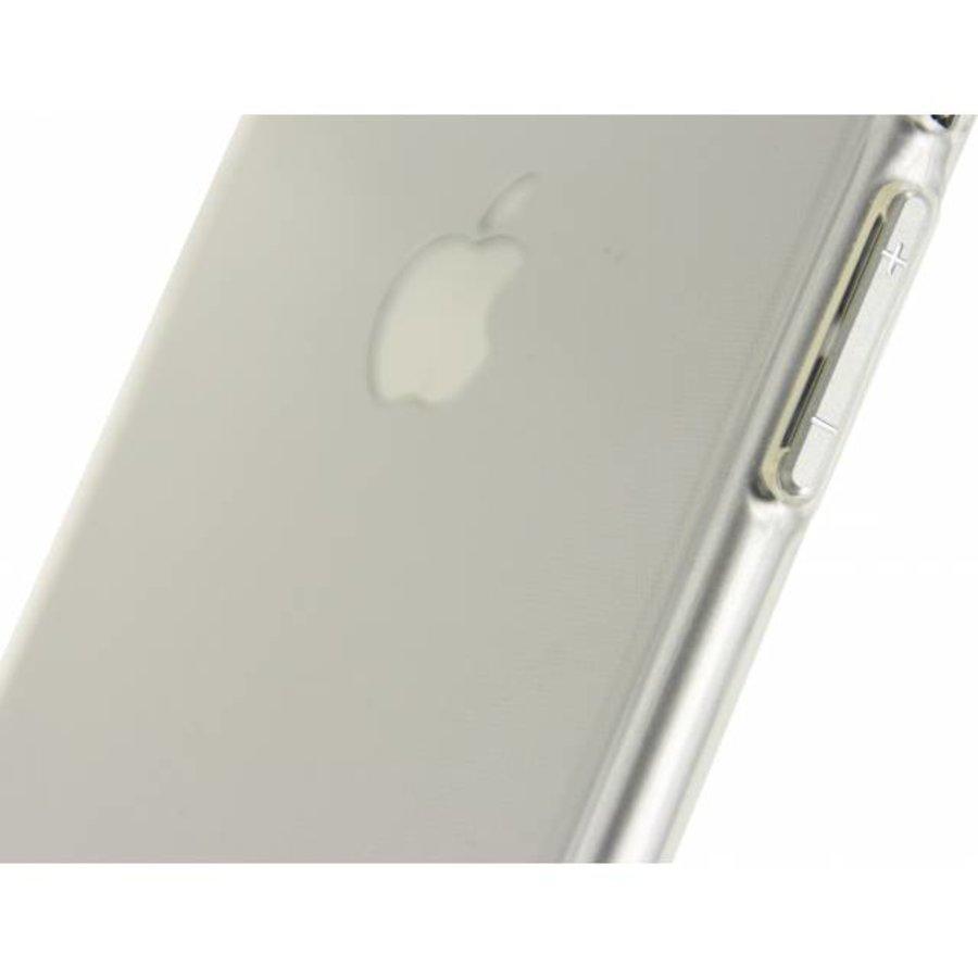 iPhone 7/8 - Gelly Case - Doorzichtig Zilver-3