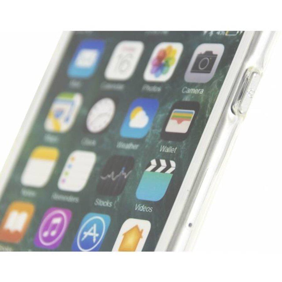 iPhone 7/8 - Gelly Case - Doorzichtig Zilver-4