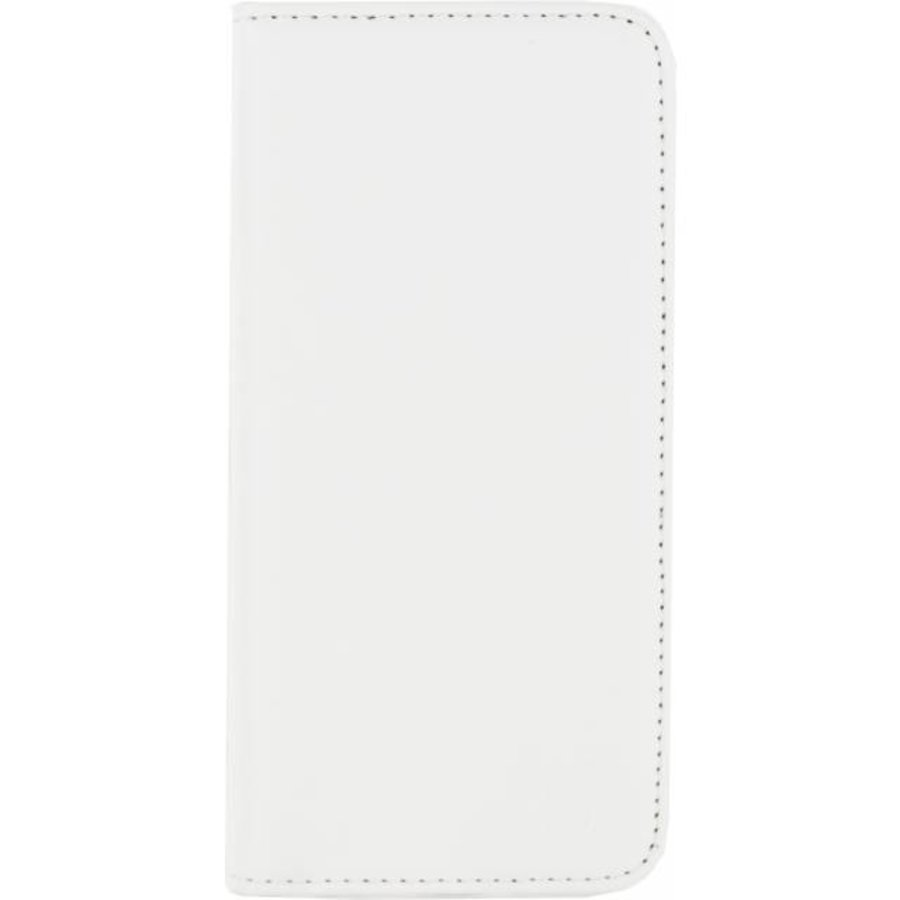 iPhone 6/6S - Gelly Wallet Book Case - White-1