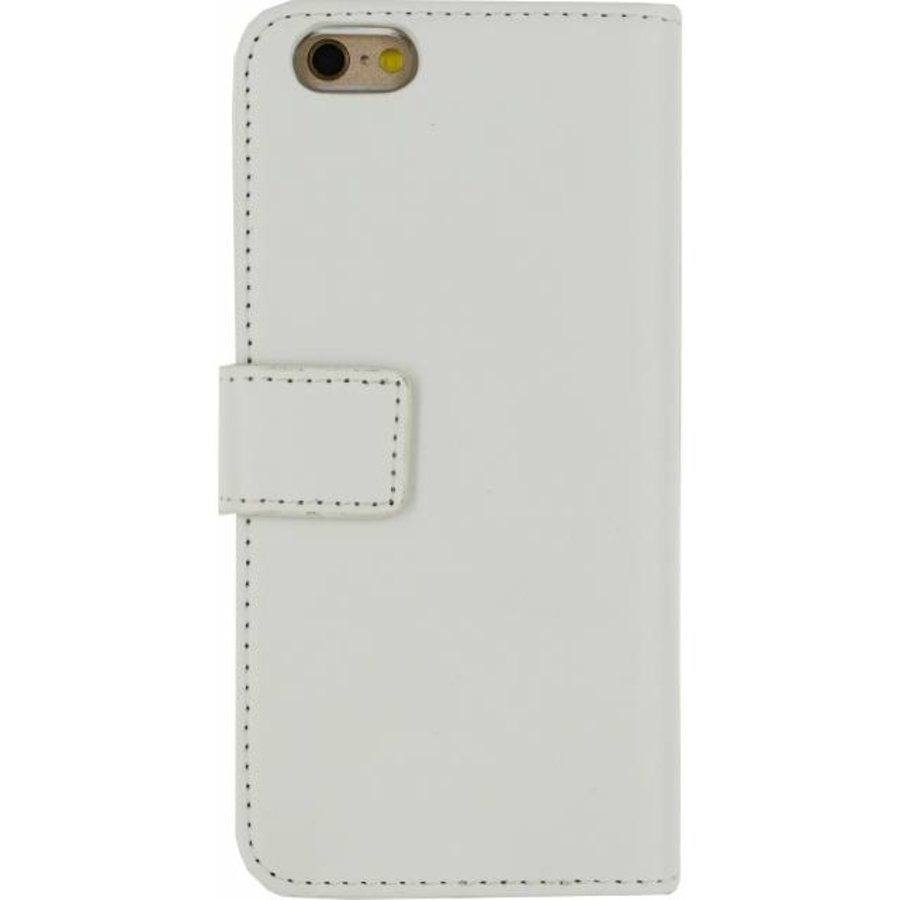 iPhone 6/6S - Gelly Wallet Book Case - White-2