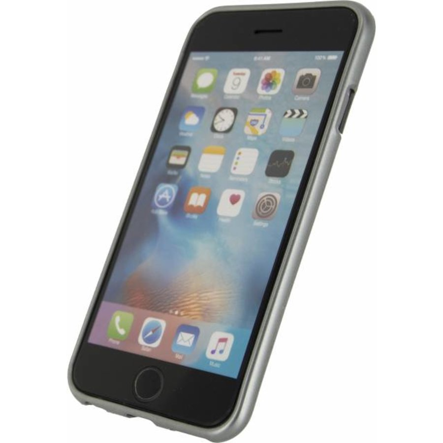 iPhone 6/6S - Metallic Gelly Case - Space Grey-3