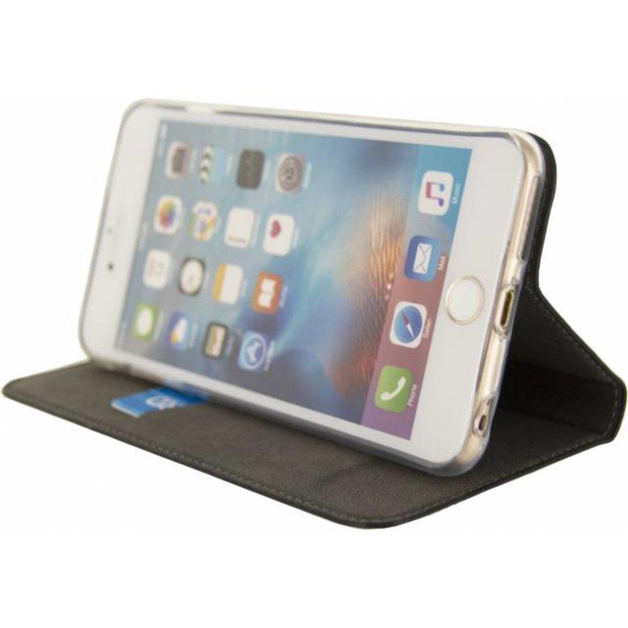 iPhone  6 Plus/ 6S Plus - Premium Gelly Book Case - Zwart-4