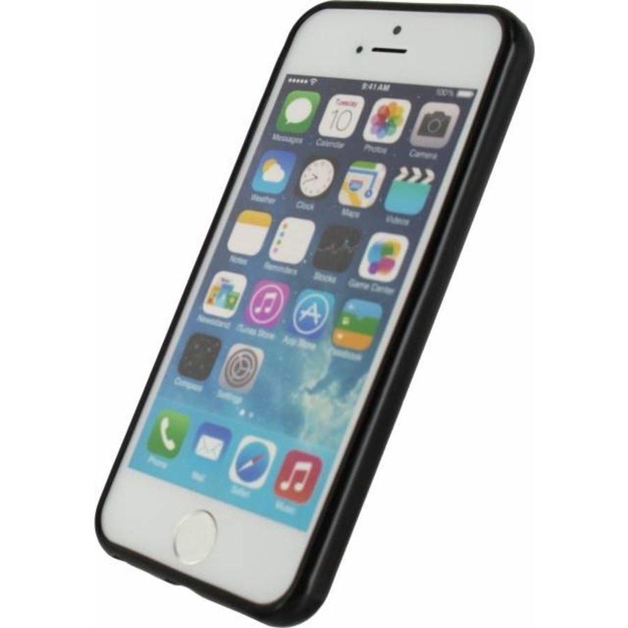 iPhone 5/5S/SE - Gelly Case - Zwart
