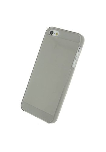 iPhone 5/5S/SE - Gelly Case - Smokey Grey