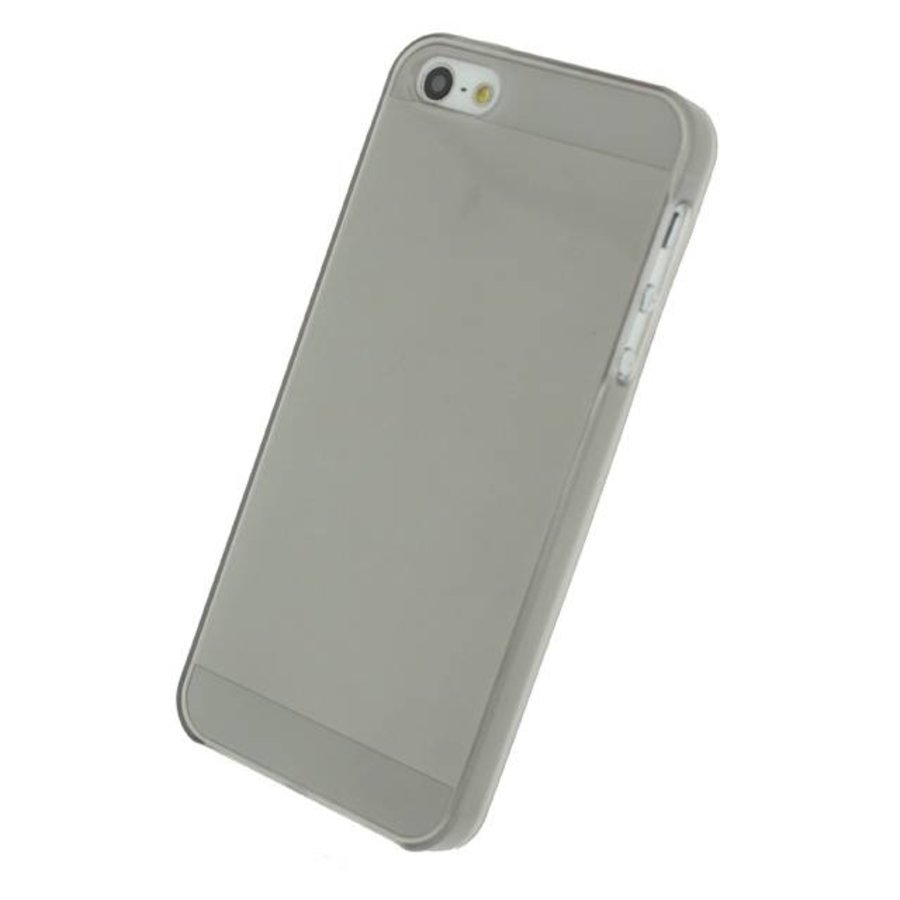 iPhone 5/5S/SE - Gelly Case - Smokey Grey-1