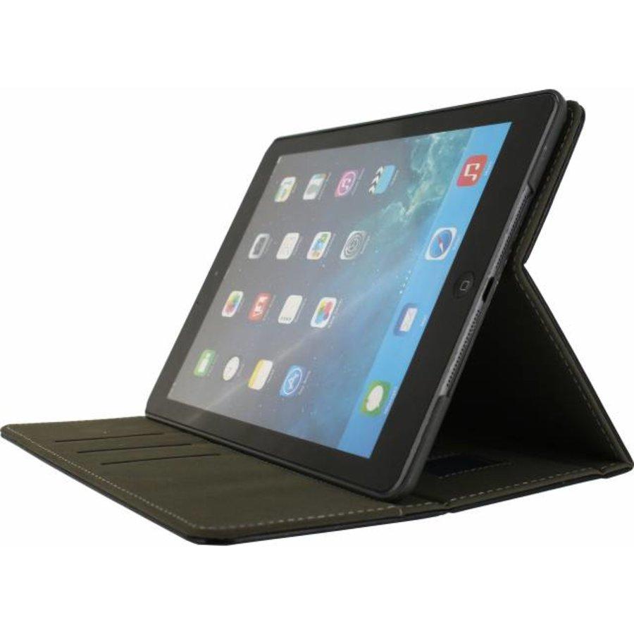 Apple iPad 9.7 2017 - Premium Folio Case - Zwart-1