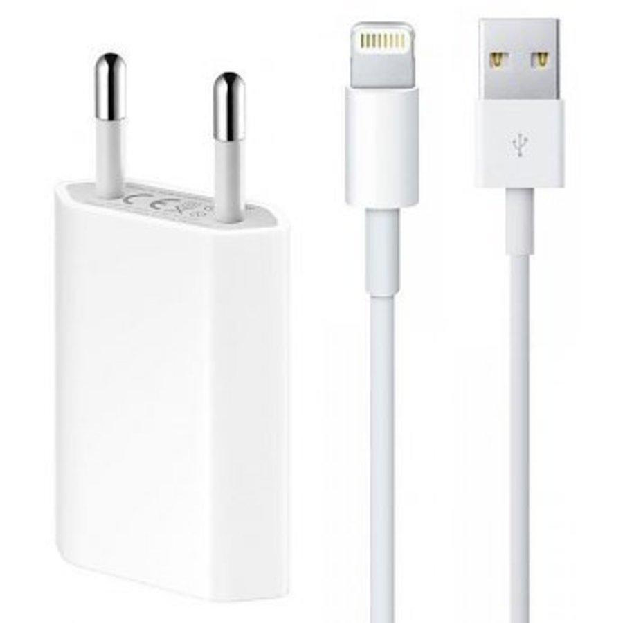 Combideal: Apple USB Lightning oplaadkabel + Adapter-1