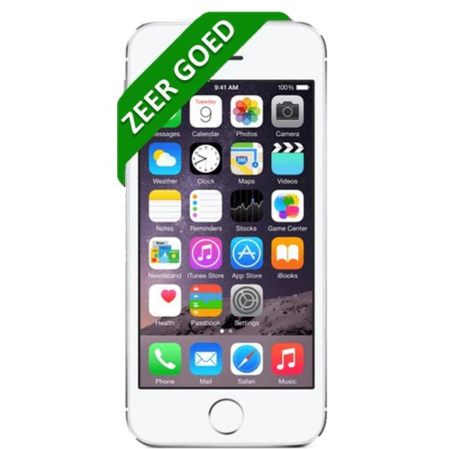 iPhone 5S Refurbished - 16GB - Zilver - Zeer goed-1
