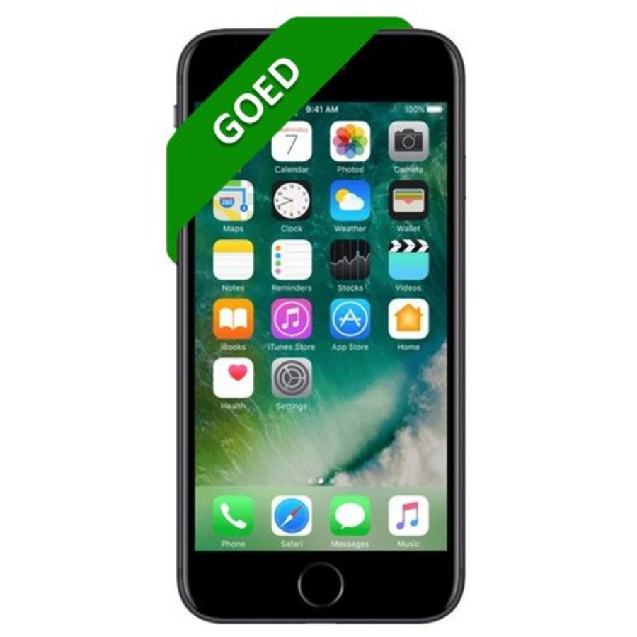 iPhone 7 Refurbished - 32GB - Mat zwart - Goed
