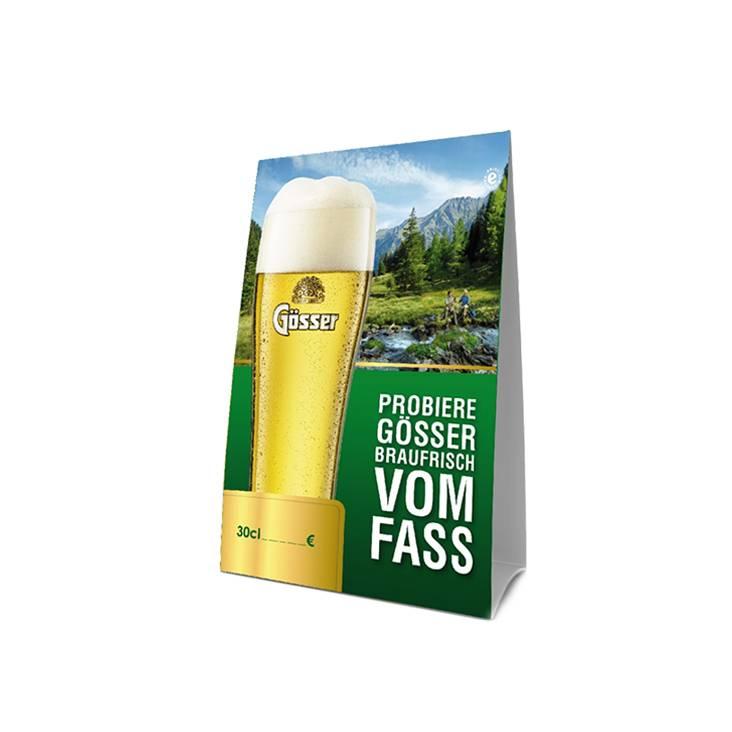 Gösser Tent cards (20 pcs)