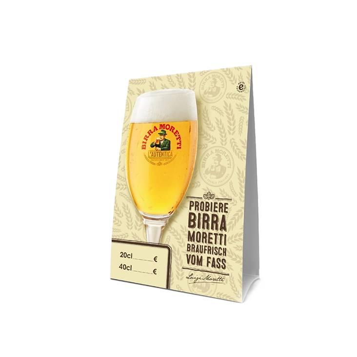 Birra Moretti  Tent cards (20 pcs)