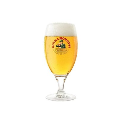Birra Moretti  Glasses 40cl (6 pcs)