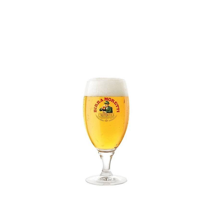 Birra Moretti  Glasses 20cl (6 pcs)