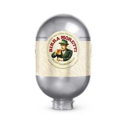 Birra Moretti  8L Keg