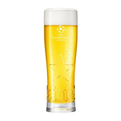 Heineken  Heineken UCL Star glasses 25cl (24 pcs)