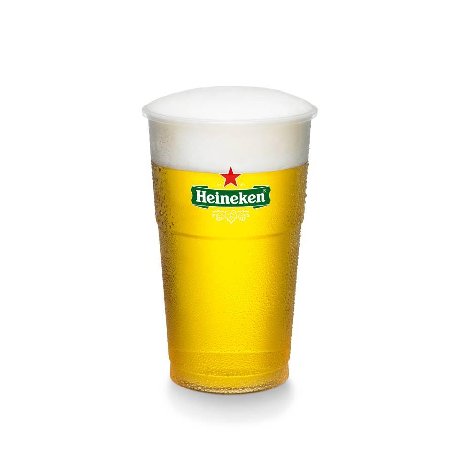 Heineken  Plastikbecher 25cl (1250x)