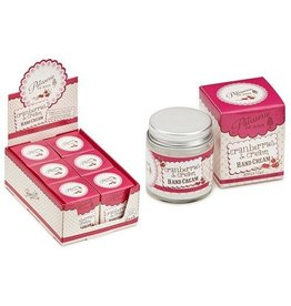 Rose&Co Cranberry & Cream - Handcreme Jar