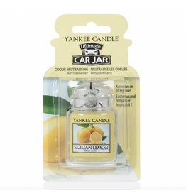 Yankee Candle Sicilian Lemon Car Jar Ultimate