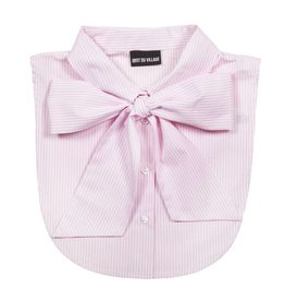 Idiot Du Village Pinstripe - Bow pink