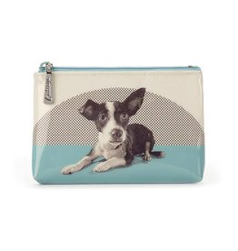 Catseye Dog Etching - Pouch