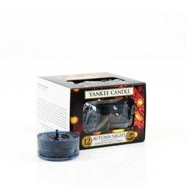 Yankee Candle Autumn Night Tea Light 12st