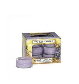 Yankee Candle Lemon Lavender Tea Lights 12st