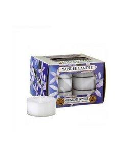 Yankee Candle Midnight Jasmine Tea Lights 12 st
