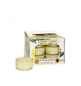 Yankee Candle Sicilian Lemon Tea Lights 12 st
