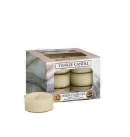 Yankee Candle Warm Cashmere Tea Light 12 st