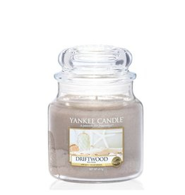 Yankee Candle Driftwood Medium Jar