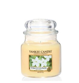 Yankee Candle Tobacco Flower Medium Jar