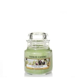Yankee Candle Olive & Thyme  Small Jar