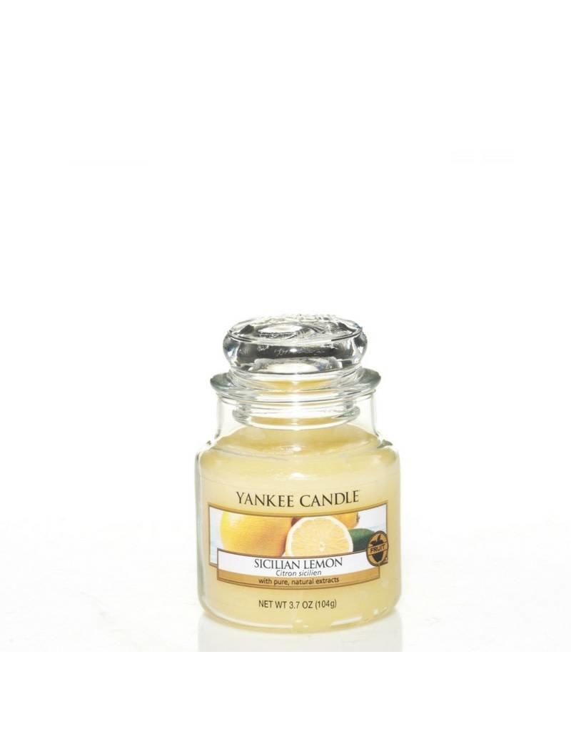 Yankee Candle Sicilian Lemon Small Jar