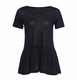 French Connection T-shirt Miro - Zwart