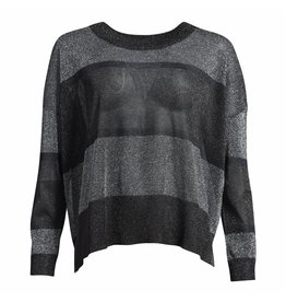 Co'Couture Trui - Lurex Knit