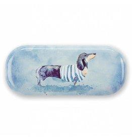 Catseye Sausage Dog - Brillendoos