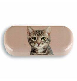 Catseye Tabby Cat - Brillendoos