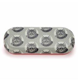 Catseye Cat Etching - Brillendoos