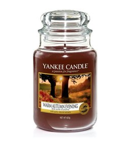 Yankee Candle Warm Autumn Evening - Large jar