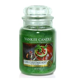 Yankee Candle Cool Christmas Mint - Large Jar