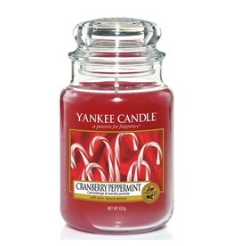 Yankee Candle Cranberry Peppermint Large jar